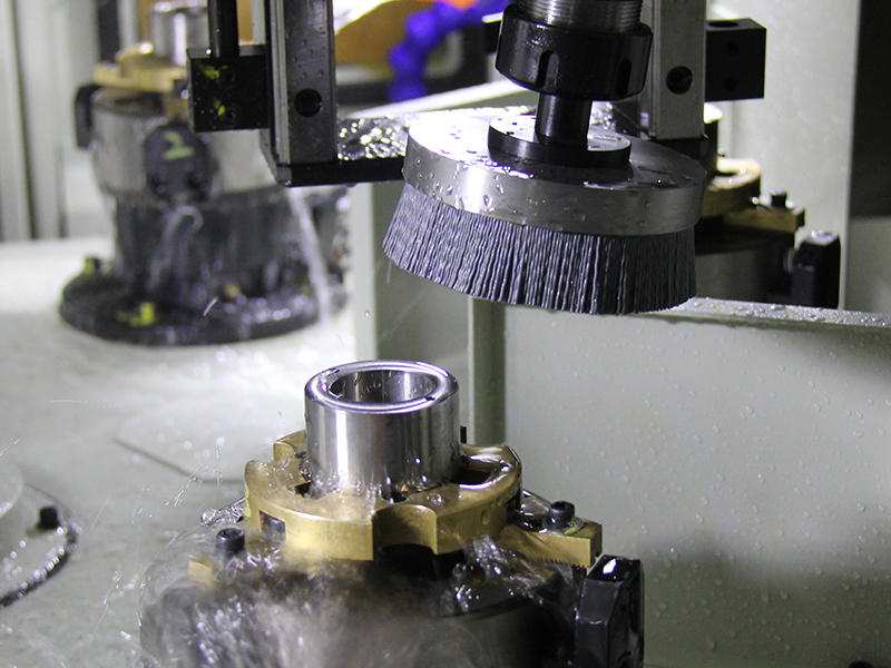 Deburring of Finish Machining
