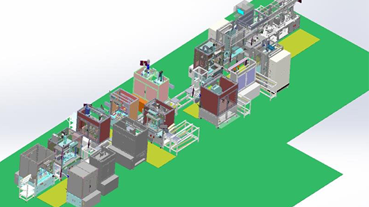Assembly And Testing Line