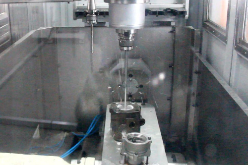 High-pressure Water Deburring