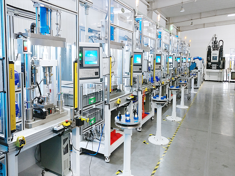 Automotive Parts Assembling Line