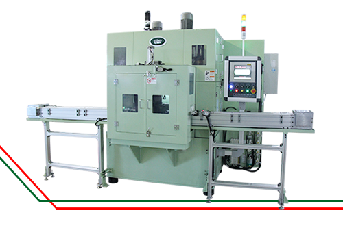 Piston deburring machine | chamfering machine