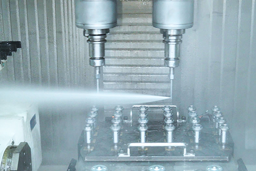 Water Jet Deburring and Cleaning